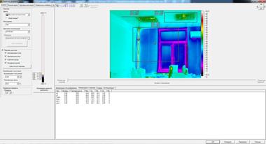 Анализ результатов исследования в программном обеспечении SmartViev тепловизора Fluke