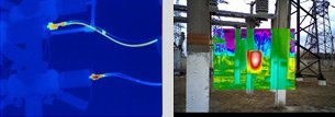 Тепловизор для измерения и выявления аномалий на ЛЭП