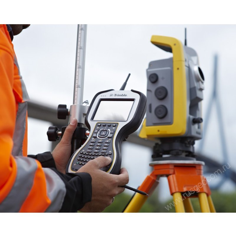 Использование Trimble TSC3 TA