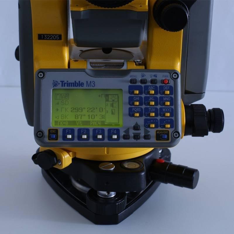 тахеометр trimble m3 инструкция