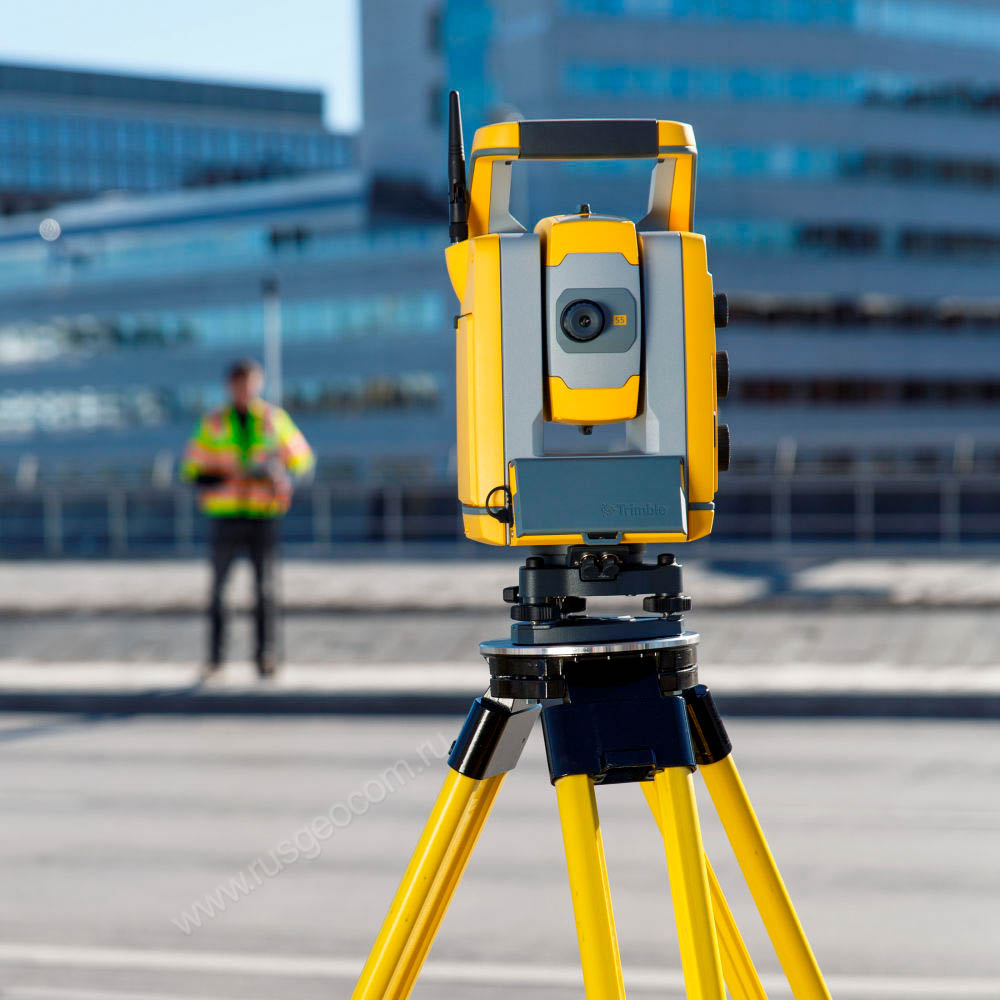 "тахеометр Trimble S5 5"" Robotic, DR Plus, Active Tracking"